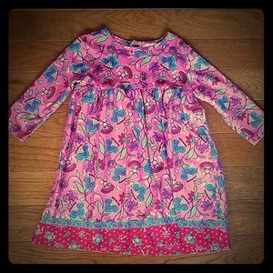 Hanna Andersson Girls top/dress-size 90
